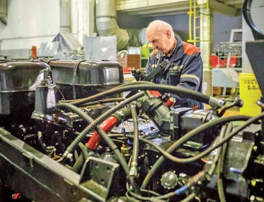 производство тракторов, минск