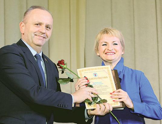 вручение грантов лучшим педагогам минска
