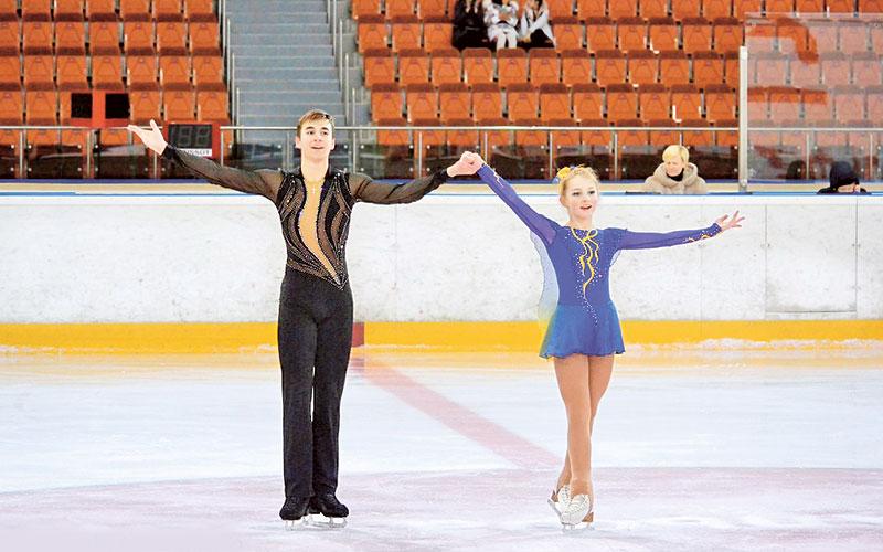 Владислав Гресько и Дарья Рябкова