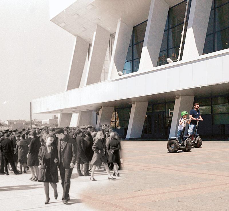 Дворец спорта, 1966 год