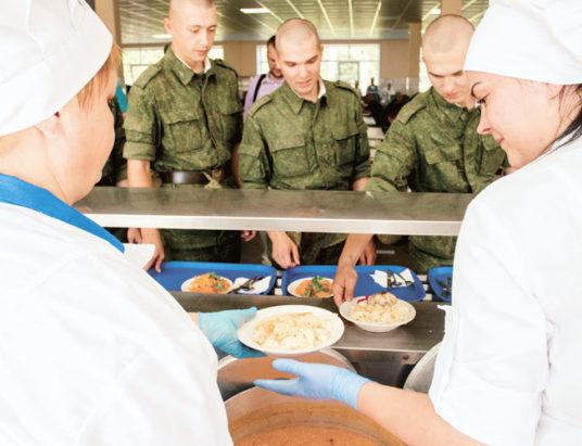 армия, питание