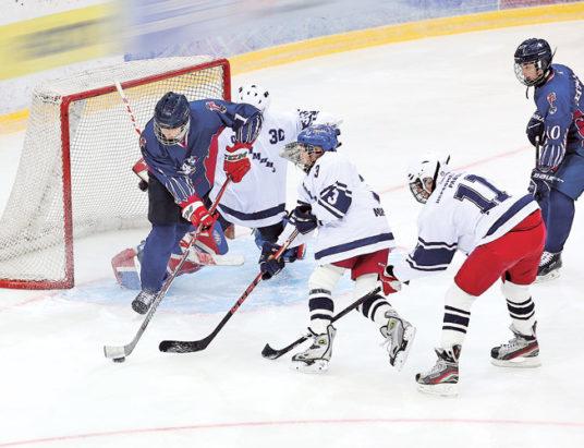 хоккей, золотая шайба