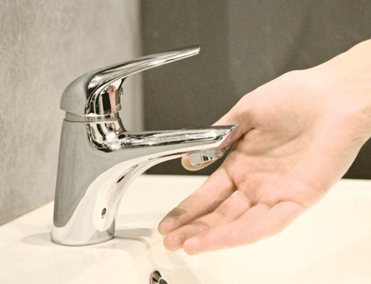 кран, вода