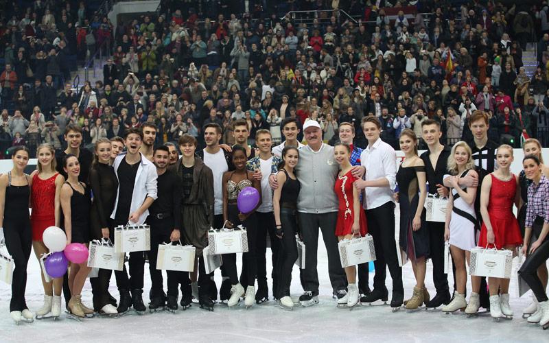 чемпионат Европы по фигурному катанию в Минске