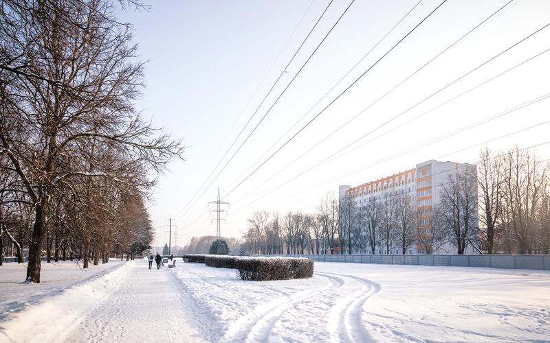улица Калиновского, минск