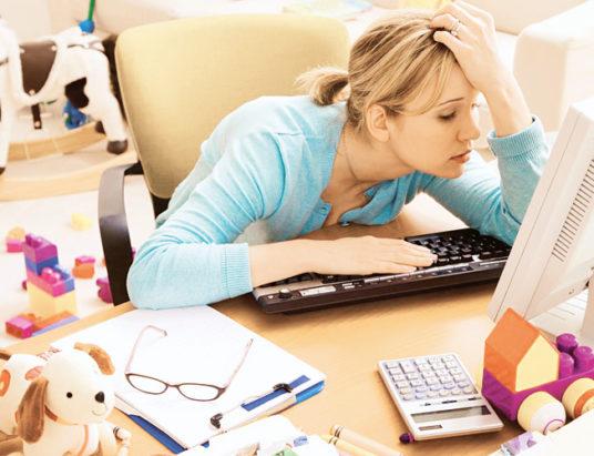 женщина, стресс