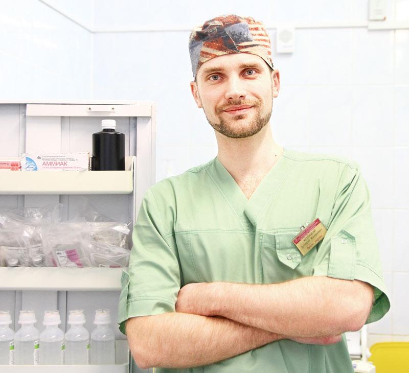 Дмитрий Кудрицкий, хирург