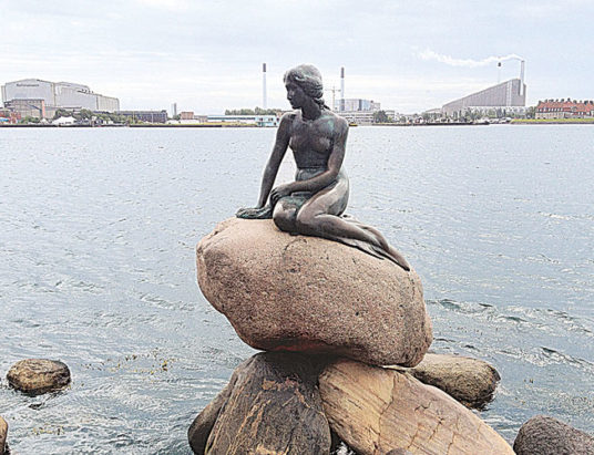 Den Lille Havfrue, русалочка
