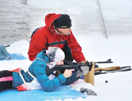 Снежный снайпер