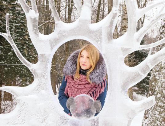 ледовые скульптуры, минск