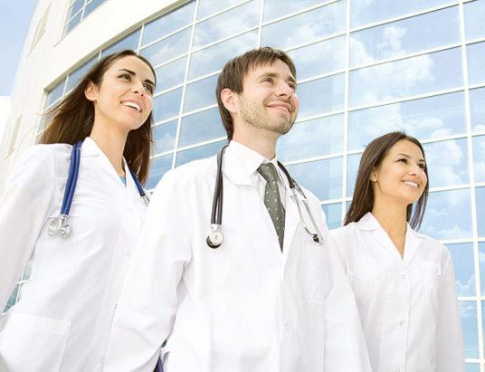 врачи, распределение