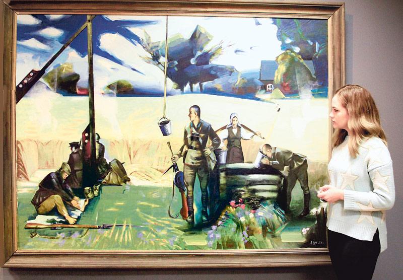 Выставка картин Леонида Щемелёва