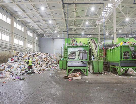 мусоросортировочный завод, шабаны
