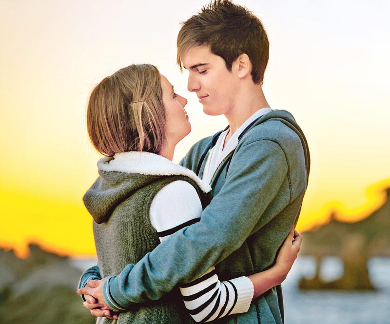 подростки, любовь